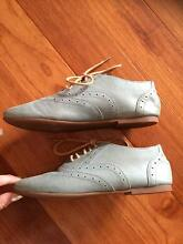 Teal Leather Brogues Shoes Winston Hills Parramatta Area Preview