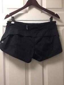Lululemon Speed Shorts: Size 8