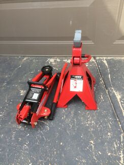 Car Jack and stand.