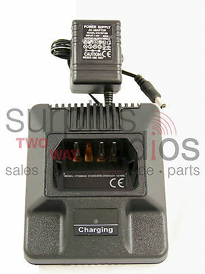 New Charger For Motorola Radius P1225 Gp300 P110 Gtx800 Gtx900 Gp350 Lts2000