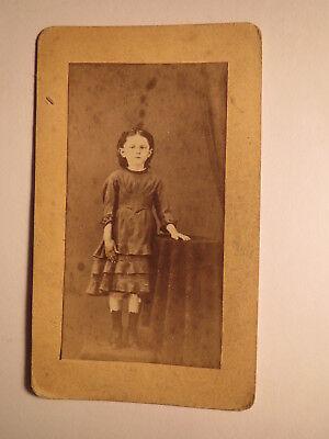 stehendes Mädchen - ca. 1870/80er Jahre / CDV