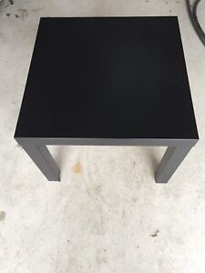 Side table/Cofee table - Compressed wood - Black