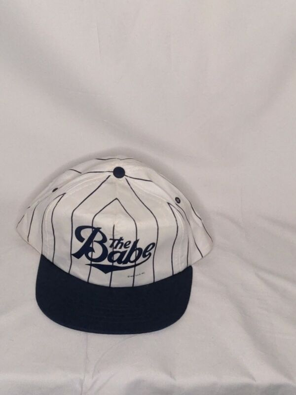 NEW Orig Owner The Babe Video Movie Store Promo Baseball Hat Babe Ruth Goodman
