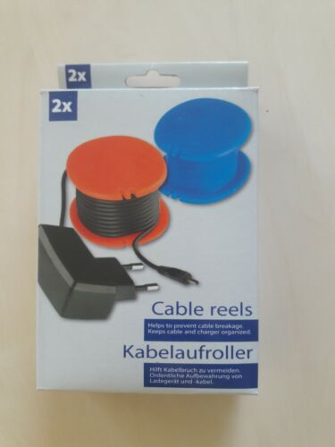 Kabelaufroller Cable reels 2 Stück NEU