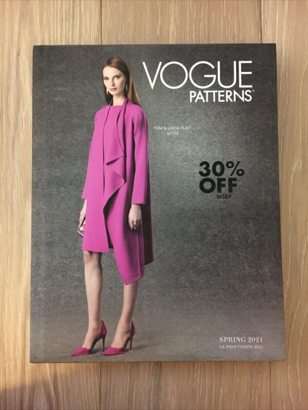 Vogue Spring 2021 Sewing Counter Book Hardcover~Design Students~ (#2)