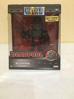 "Jada Toys Marvel DEADPOOL M54 4"" Diecast Metal Figure Hot Topic NEW NIB X-force"