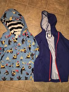 Size 7 Rain and Spring Jacket ( Hatley and Old Navy