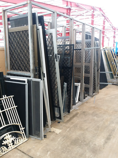 Good quality second hand security doors available