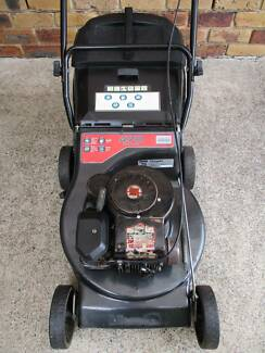 BRIGGS STRATTON 4 STROKE,MASPORT,SERVICED LAWN MOWER!CATCHER.