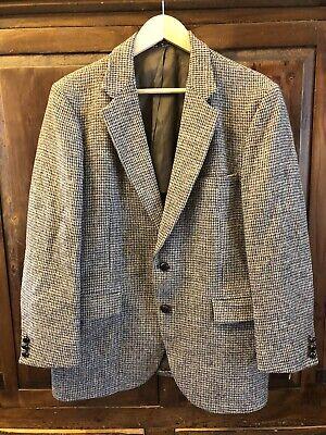 Vintage 42 R Harris Tweed Sport Suit Jacket  Blazer Coat Jansens New York