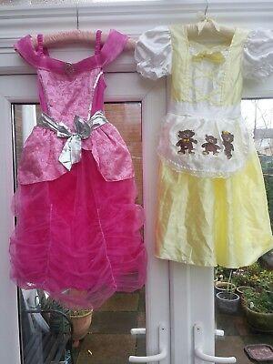 Child Barbie Power Princess Girls Kids Fancy Dress Pink Superhero Costume ( 2 )