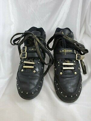 Vintage Michael Jackson Black Shoes by L.A. Gear, Billie Jean, Women's Size 7.5