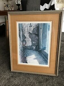 Robert Bateman signed print framed