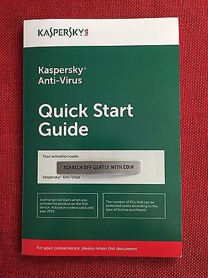 Kaspersky LAB NEW, Kaspersky Antivirus 2017 5 PC (NOT 3 P...