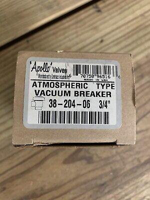Apollo Atmospheric Vacuum Breaker 38-204-06 34