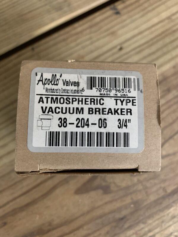"""Apollo Atmospheric Vacuum Breaker 38-204-06 3/4"""""""
