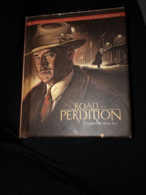 "Road to Perdition Film Script screenplay mini book 3"" x 4"" From Cast/crew 2002"