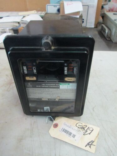 General Electric Time Overcurrent Relay GE IAC51B54A Inverse Type: IAC 60Hz Used