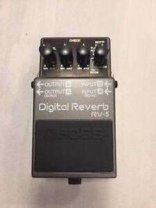 BOSS RV-5 Reverb