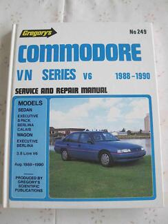 HOLDEN COMMODORE VN GREGORY #249 SERVICE REPAIR MANUAL Wollongong Region Preview