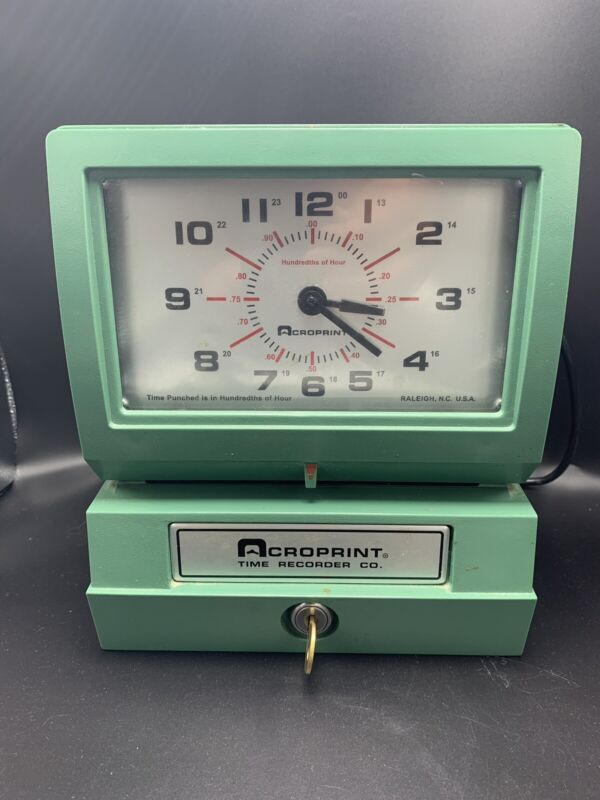 Acroprint Model 150ER3 Automatic Time Recorder