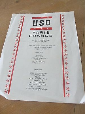 Uso Paris France Map And Services   Philip Morris   Department Of Defense