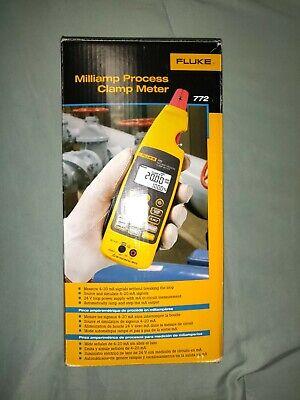 Fluke 772 Milliamp Process Clamp Meter Screen Protector Full Kit In Box Read