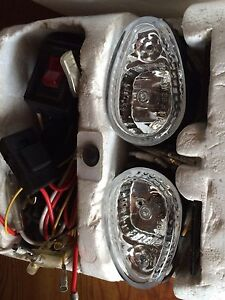 Halogen Off-Road / Fog Lights w/ Blue Accents