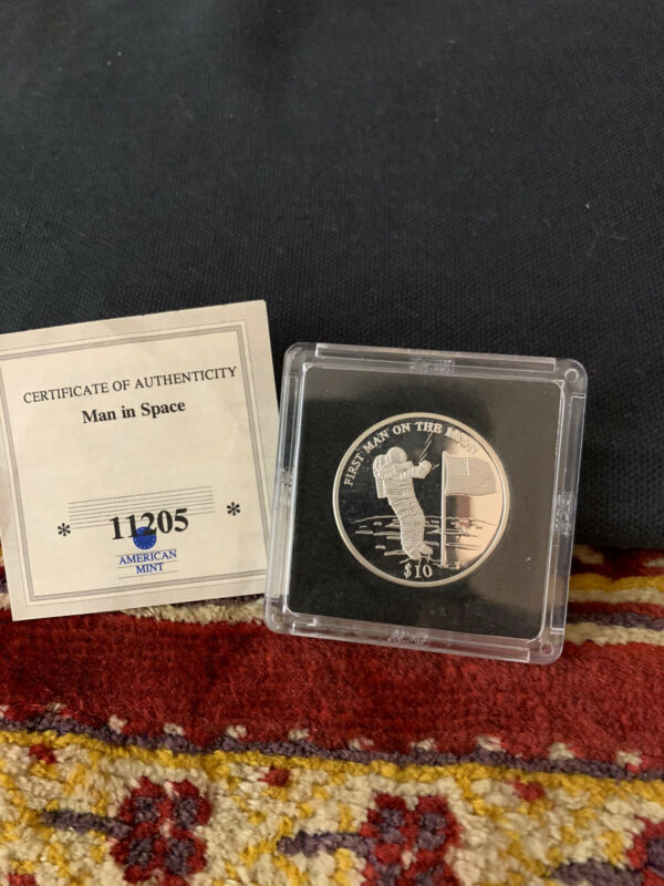 2000 American Mint Republic Liberia Coin