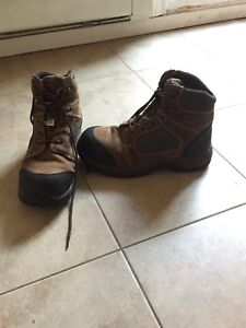 Steel Toed Boots size 9.5 men