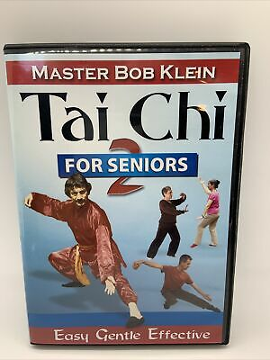 Tai Chi for Seniors (Easy, Gentle, Effective)(DVD) Master Bob Klein