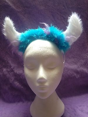 Sulley Monsters Inc Character Headband With Horns One Size Unique New - Sulley Kostüm Monsters Inc