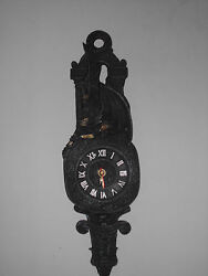 Black Forest Wall Clock 18 Battery Operated - Serpents