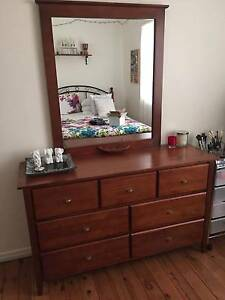 Dressing table with drawers Lidcombe Auburn Area Preview