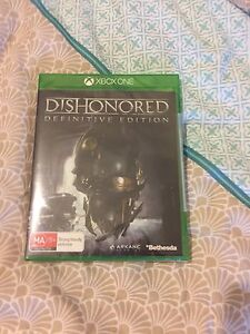 Brand New Sealed Dishonored Definitve Ed Xbox One Coomera Gold Coast North Preview