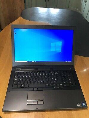 DELL PRECISION M6600 17.3 Laptop i7 Extreme, 16GB, 120SSD, 500GB SSHD, PSU, Dock