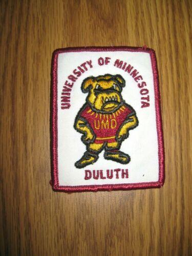 Vintage University of Minnesota UMD Duluth Patch / Bulldogs Mascot