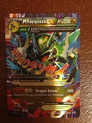 Mega Rayquaza Ex 61 108 Xy Roaring Skies China Card Holo Rare Read Description