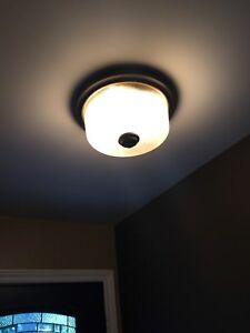 Lights and ceiling fans