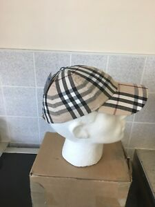 BURBERRY BASEBALL CAP HAT NEW VINTAGE CHECK