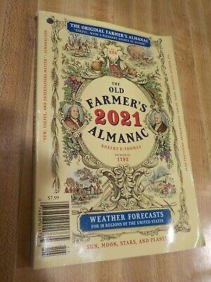 The Old Farmers's Almanac 2021. BRAND NEW