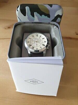 FOSSIL Men's Stainless Steel Chronograph Quartz Watch FS4735