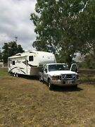 Fifth Wheeler, 29ft Keystone Cougar and F-350 tow vehicle. Tamborine Ipswich South Preview