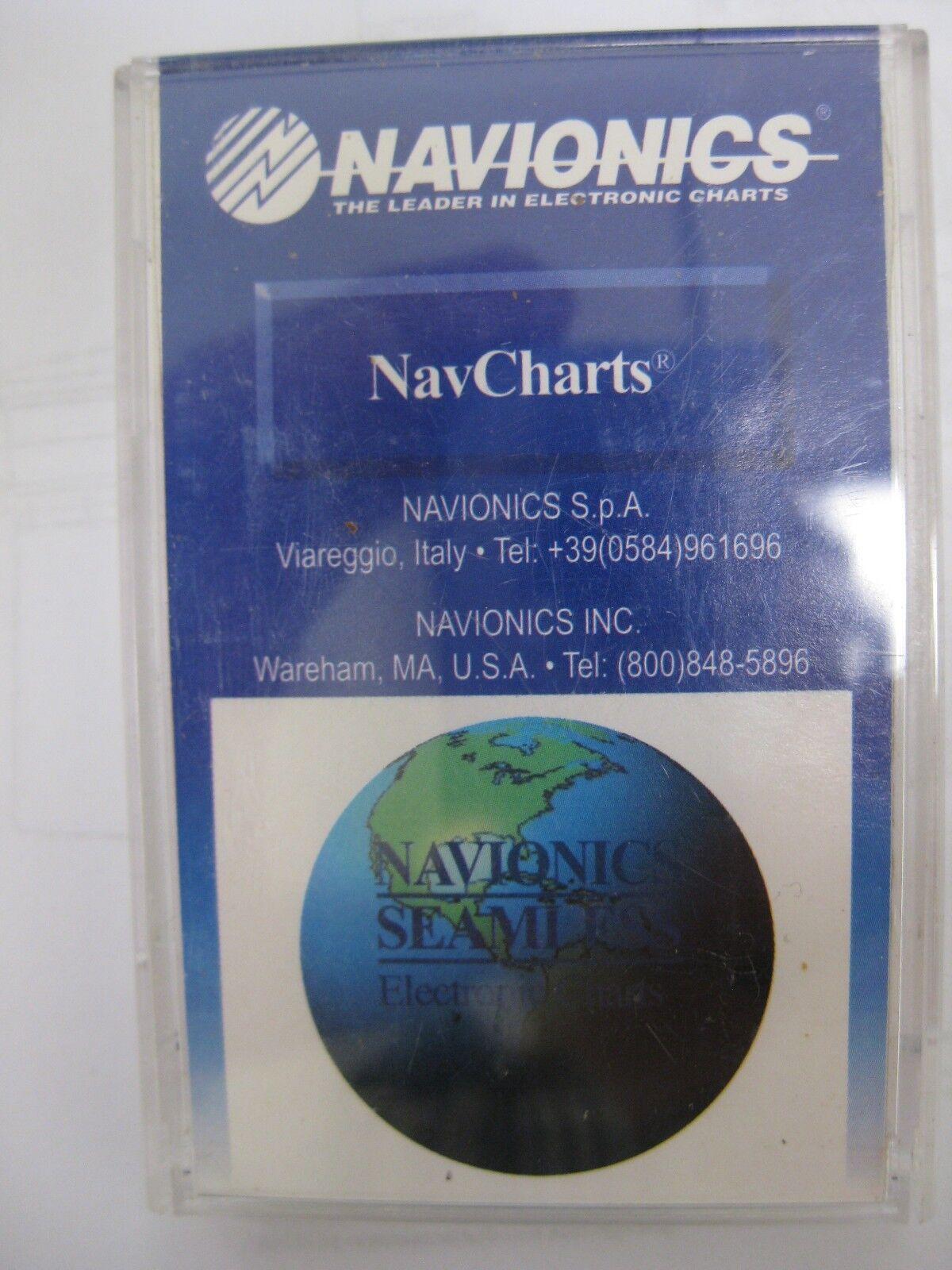 NAVIONICS ELECTRONIC CHART - Mideast Florida NavChart US029D16