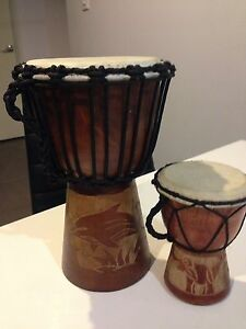 Djembe African drum set Morayfield Caboolture Area Preview