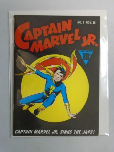 Flashback#17 Captain Marvel Jr. 1943 reprint 8.5 VF+ (1974 DynaPubs)
