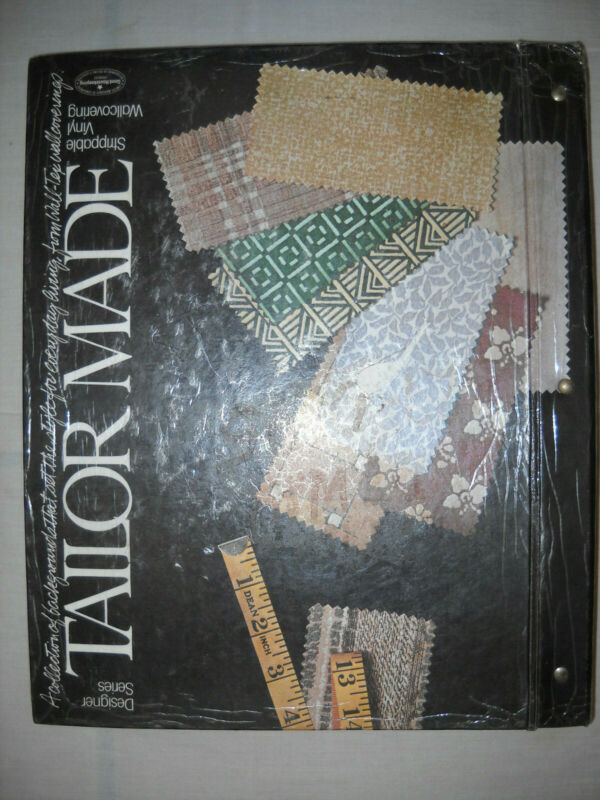 Vintage Extra-large Wallpaper Book for Scrapbooking and Crafts -117 Pages.
