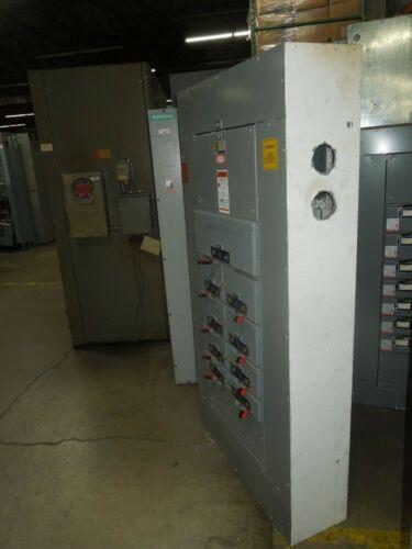 Square D Qmb 600a 3ph 4w 480y/277v Mlo W/ Fused Panelboard Switches Nema 1