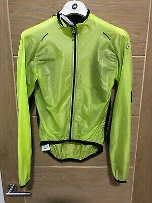 New ASSOS sJ.blitzFeder Evo7 L//S Light Cycling Shell Jacket Size Small $249