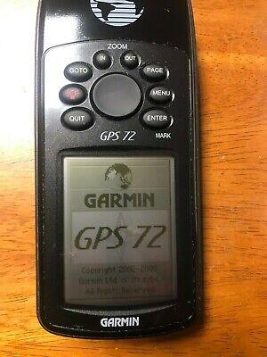 GARMIN GPS 72 HANDHELD ELECTRONIC GPS